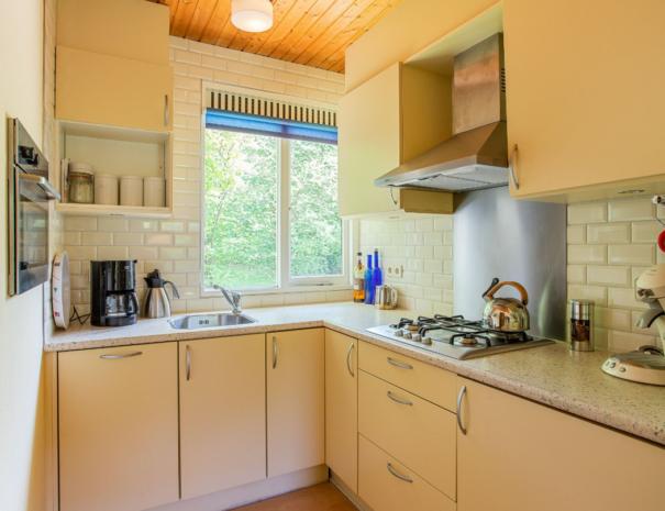 Bungalow III - keuken met vaatwasser en combi oven (Bungalow 3)